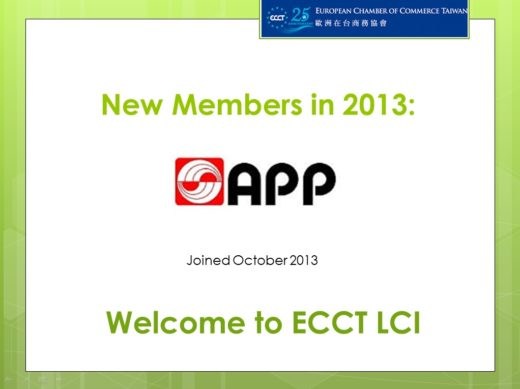 welcome new member- APP